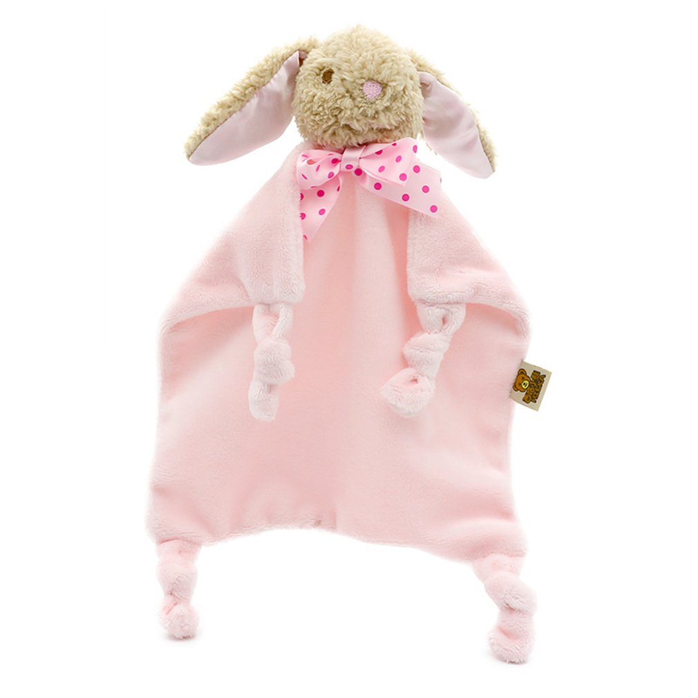 Cartoon Baby Soothing Towel Newborn Infant Security Blanket Cute Animals Soft Cotton Hand Towel for Baby Cares