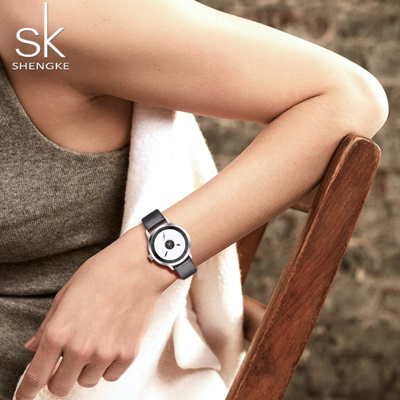 NEW Couple Watches Leather Quartz Top Brands Fashion Dial Design Japanese Movement Watch Waterproof Girl Wristwatch Lover's Gift enlarge