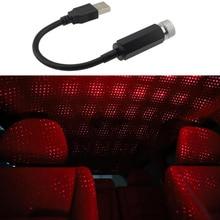 Nuevo coche USB LED techo estrella luces de noche proyector luz para Honda CRV Accord HR-V Vezel Fit City Civic Crider Odeysey Crosstour