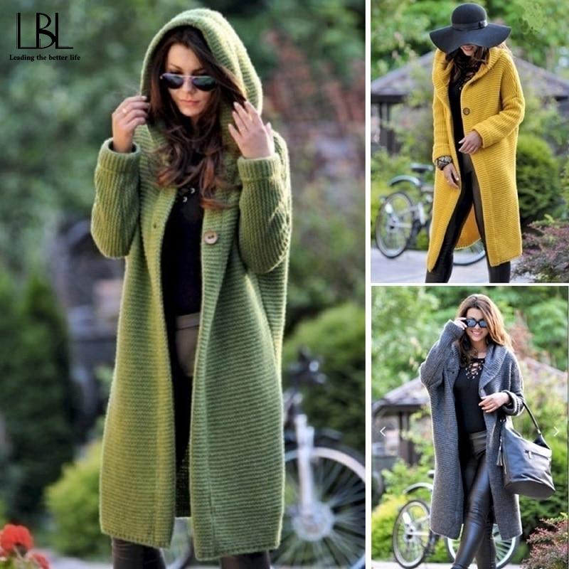 Женская куртка с капюшоном, свободное уличное пальто, свитер с капюшоном, однотонная куртка, куртка с капюшоном