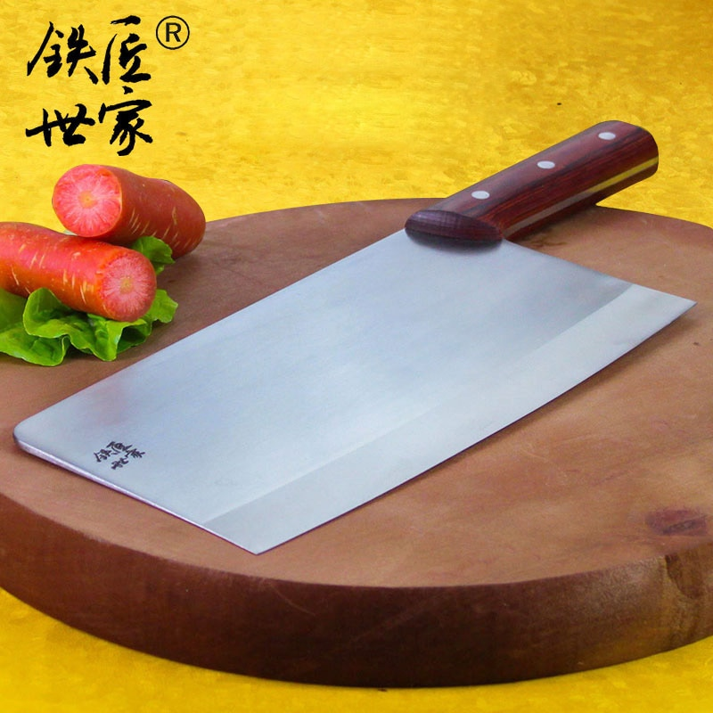 Cleaver slicing knife professional chef knives handmade forged stainless steel kitchen knives vegetable meat knife ножик