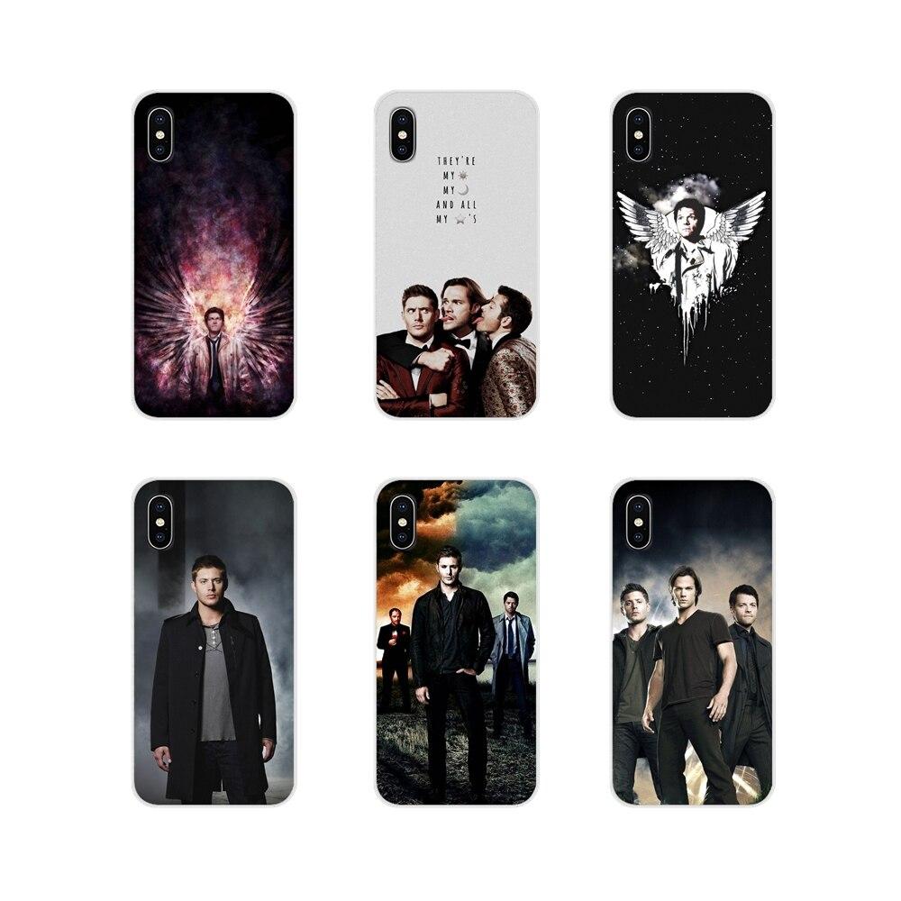 Чехлы для телефонов Xiaomi Redmi Note 3 4 5 6 7 8 Pro Mi Max Mix 2 3 2S Pocophone F1 SUPERNATURAL SAM DEAN CASTIEL winster