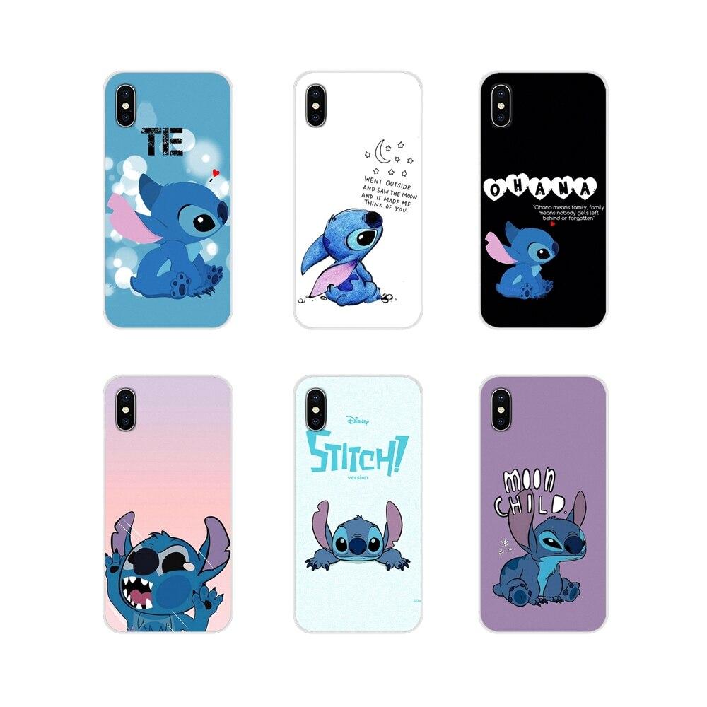 Lilo Stitch Accessories Phone Cases Covers For Xiaomi Redmi 4A S2 Note 3 3S 4 4X 5 Plus 6 7 6A Pro Pocophone F1