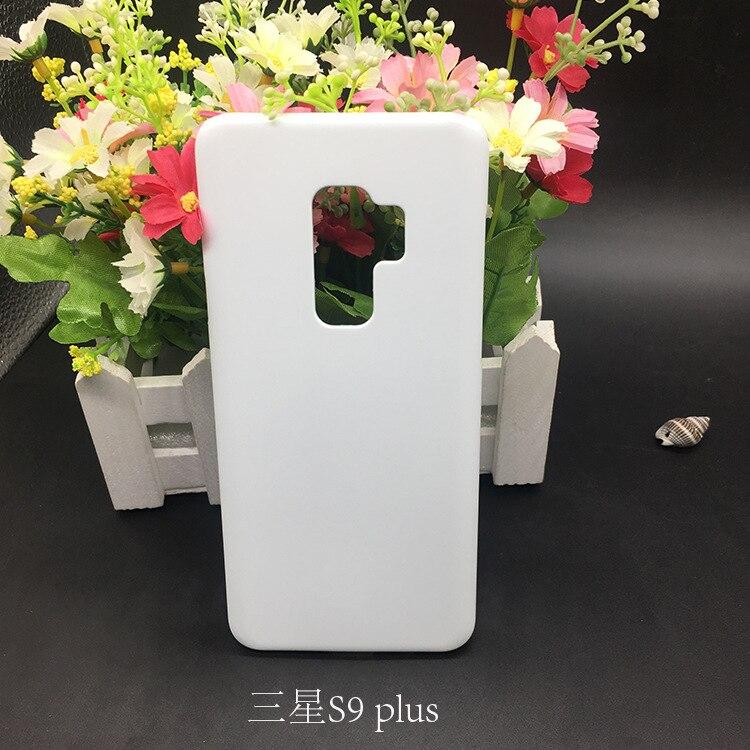 10 piezas 3D Impresión de transferencia térmica para Samsung S9/S9 plus teléfono móvil shell material al por mayor suministro