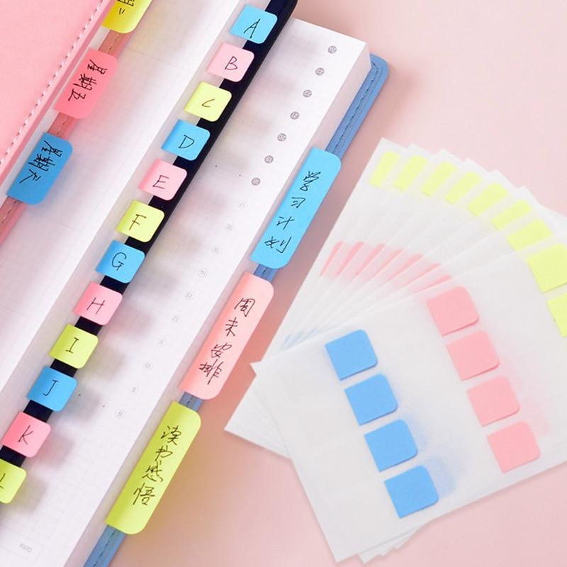 Наклейка на этикетку индекса, классификация, Липкие заметки, водонепроницаемая и липкая, записываемая самоклеящаяся этикетка маркер метки ...