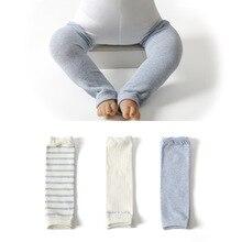 3 Pairs Baby Knee Pads baby Leggings Cotton Baby Leg Warmers Kids Knee Pads Beenwarmers Gilrs Boys K