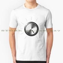 Tube Amp Volume Knob - These go to 11 black white tshirt t shirt for men women