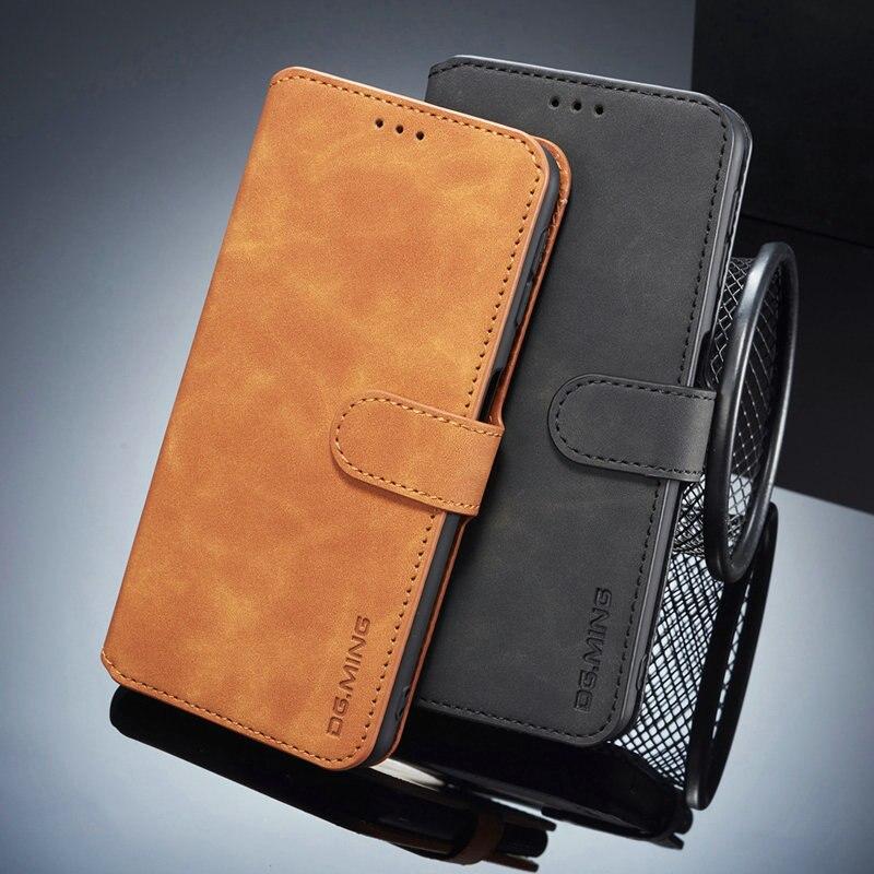 Retro Leather Wallet for Huawei Nova 5T Nova T5 5 T 5i Pro 5Z Case Luxury Flip Card Slot Funda Huawei Nova 5T Case Nova5T Coque