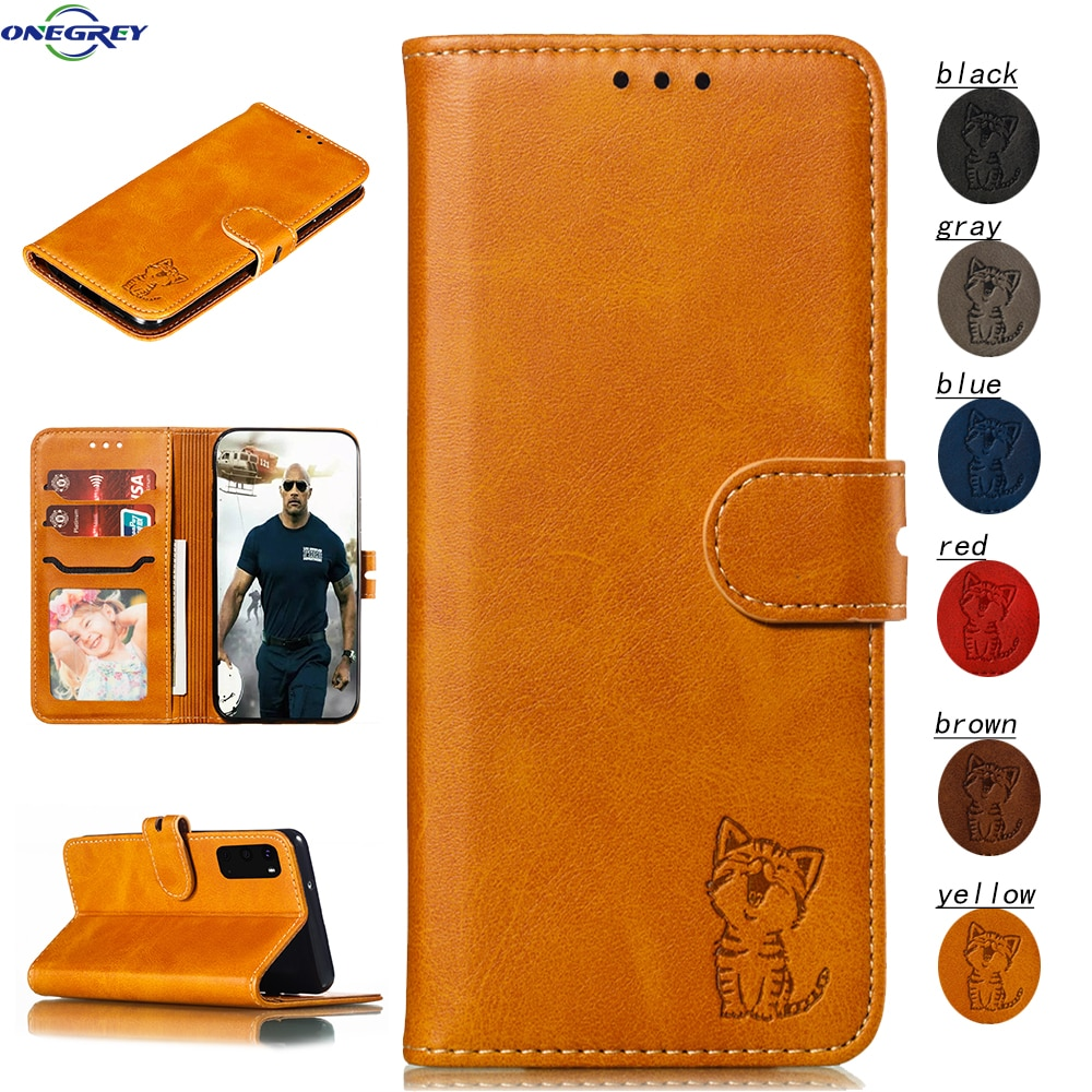 Coque pour Samsung Galaxy S20 Ultra S10 E S9 S8 Plus S6 S7 Edge Note 10 9 Pro portefeuille en cuir Note10 + housse de téléphone Coque porte-carte