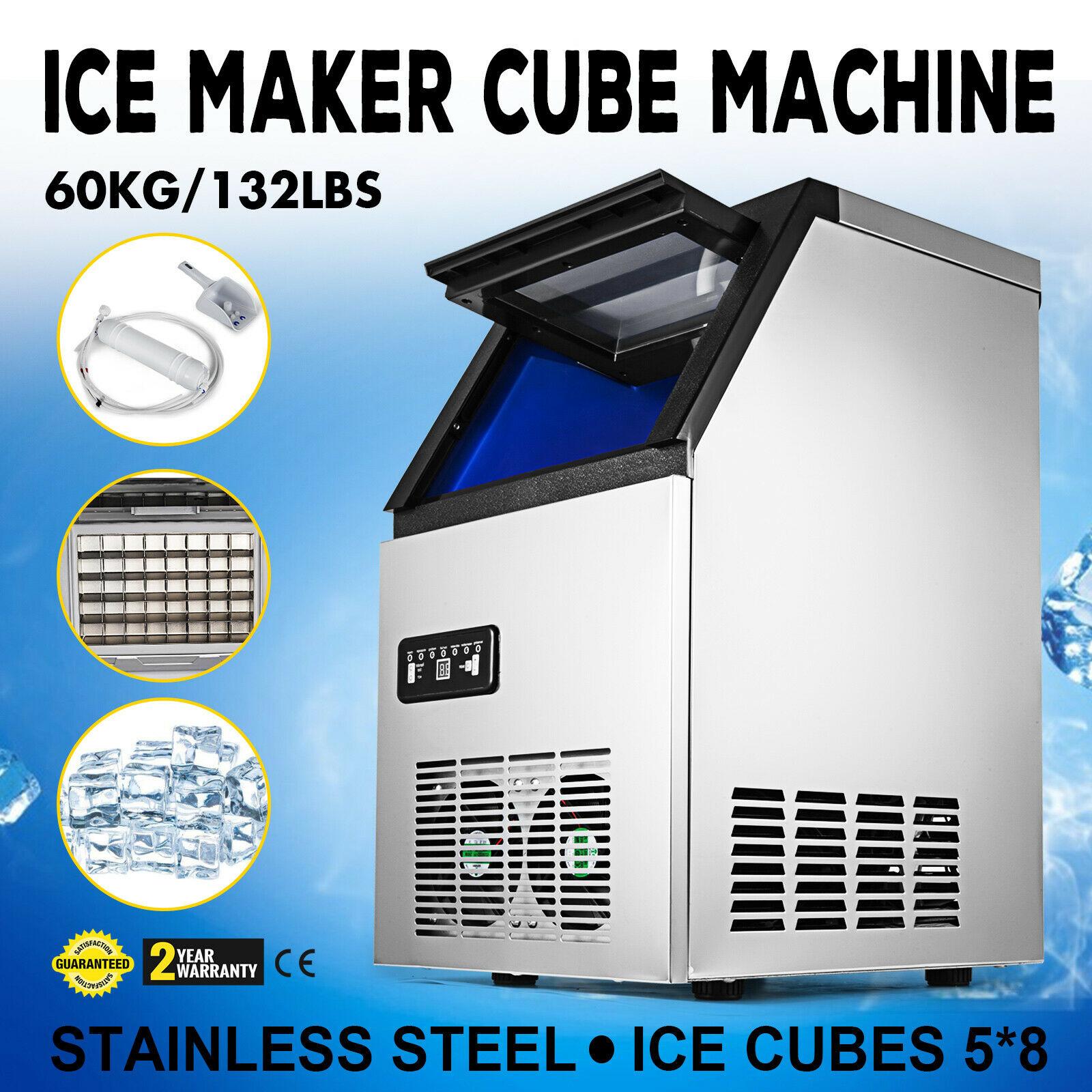 Comercial do Automóvel da Máquina do Fabricante do Cubo de Gelo de Aço Barra Contrária Aço Inoxidável 60kg – de