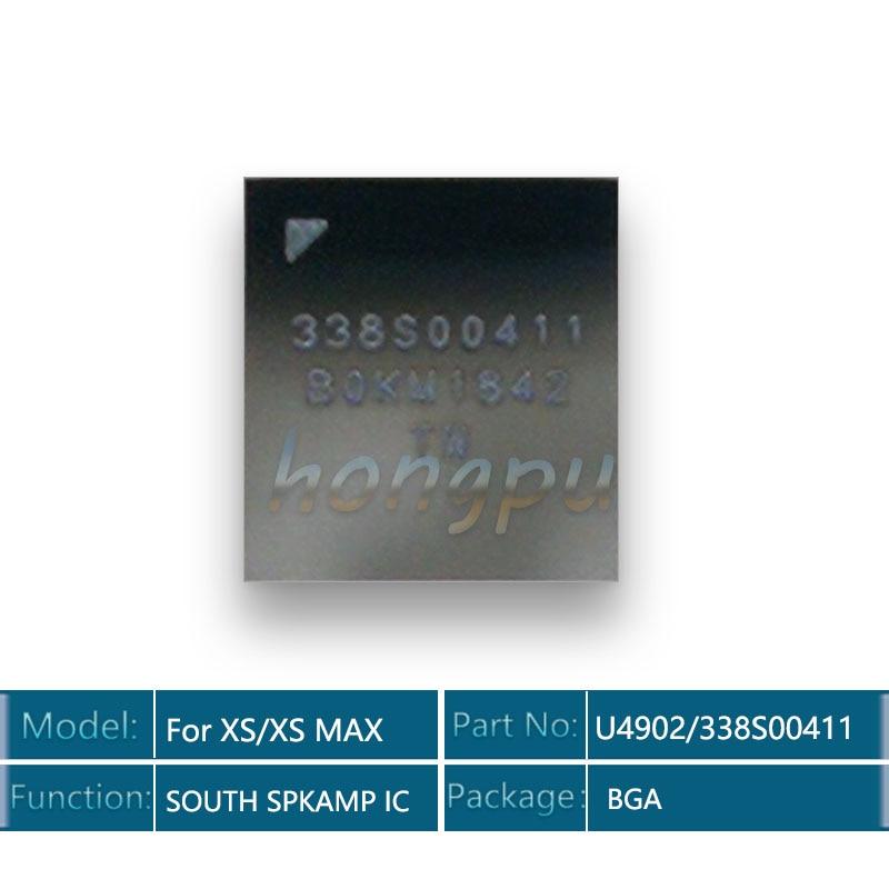 2 unids/lote U4902/U5002/U5102 para iPhone XS/XS Max arco AMP/Audio norte/sur SPKAMP pequeño de Audio IC Chip