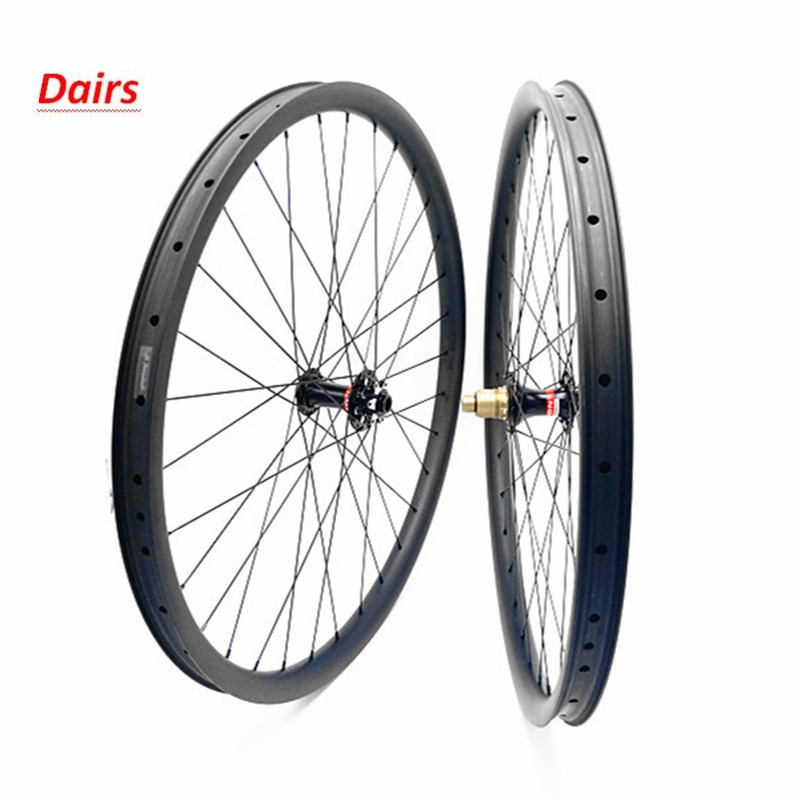 O envio gratuito de carbono mtb rodas a disco 29er mtb rodado bicicleta mtb 35x25mm tubeless montanha impulso 110x15 148x12 mtb rodas