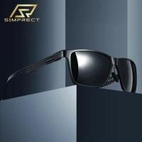 simprect aluminum magnesium polarized sunglasses men 2021 photochromic sunglasses carbon fiber drivers sun glasses for men