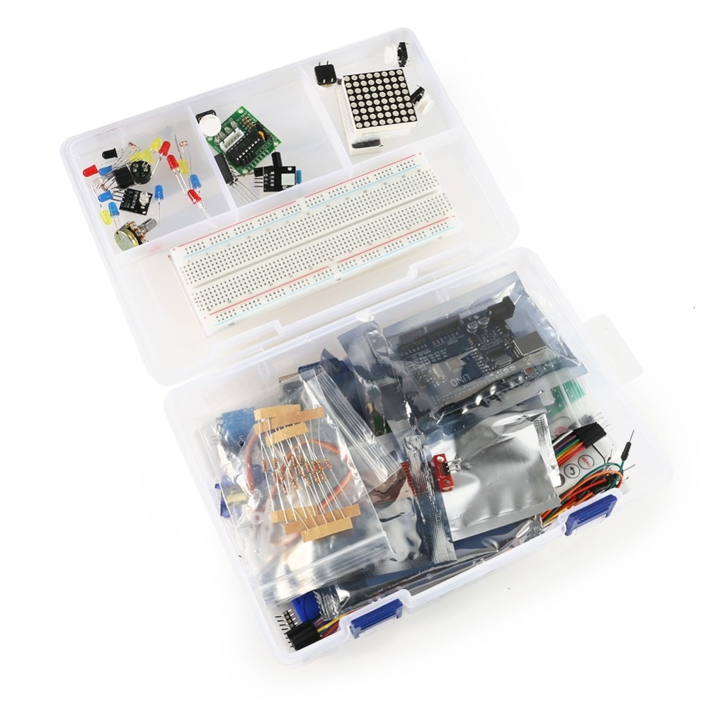 Rfid Starter Kit For Arduino Uno R3 Upgraded Version Learning Suite With Retail Box недорого