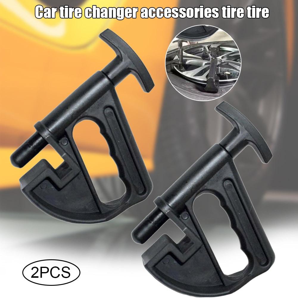 Recém universal 2 pçs manual pneu trocador talão braçadeira mão pneu trocador talão disjuntor peças durável s66