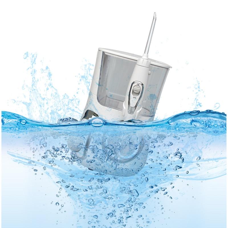 Dental Flosser Water Floss Oral Irrigator 5 Jet Tips Oral Hygiene Pressures Bench-Top Household Tooth Cleaner Multifunctional enlarge