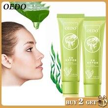 2 pièces/lot soins du visage algues Aloe Vera Gel extrait sérum hydratant blanchissant crème de nuit traitement de lacné hydratant soins de la peau
