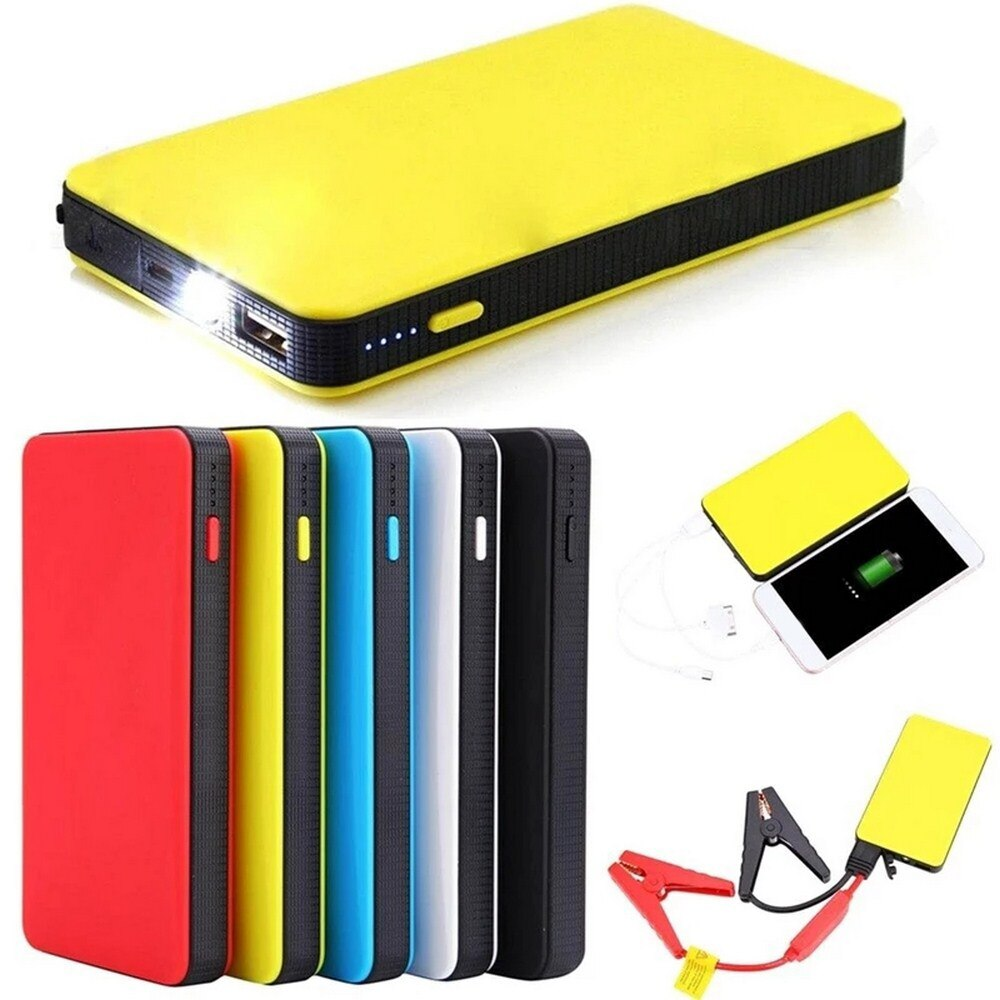 20000mAh Car Jump Starter Booster 12V Auto Starting Device Portable Power Bank Multi-Function Car Ou