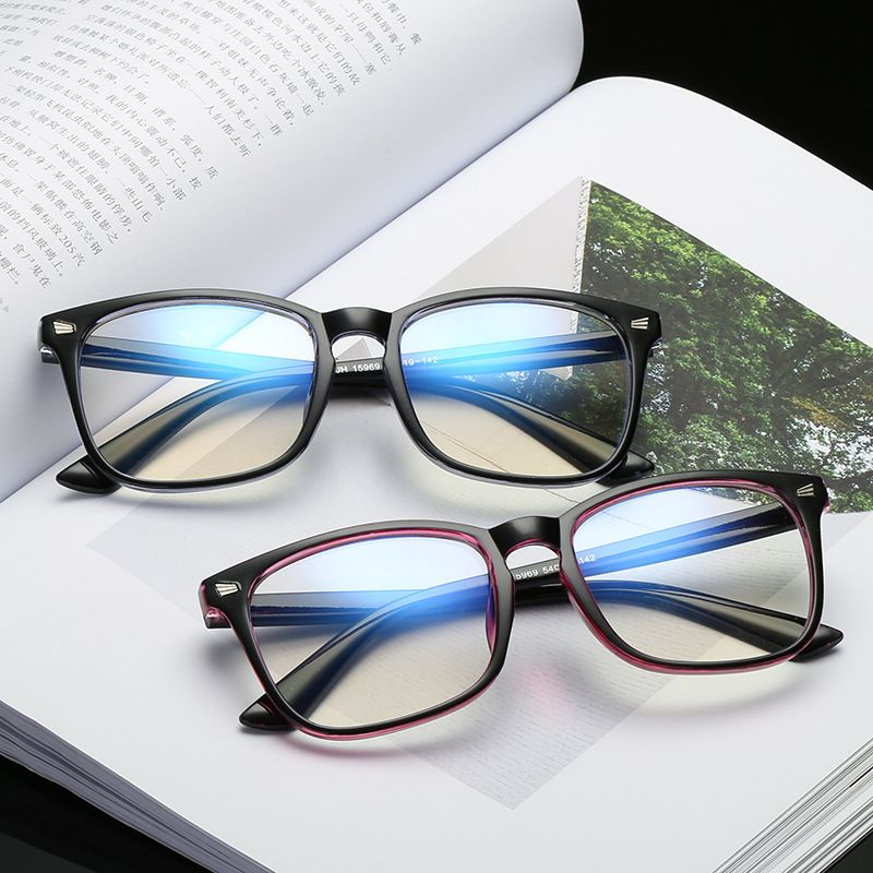 Fashion Women Men Transparent Computer Glasses Spectacle Frame Anti Blue Ray Clear Lens Eyeglasses F