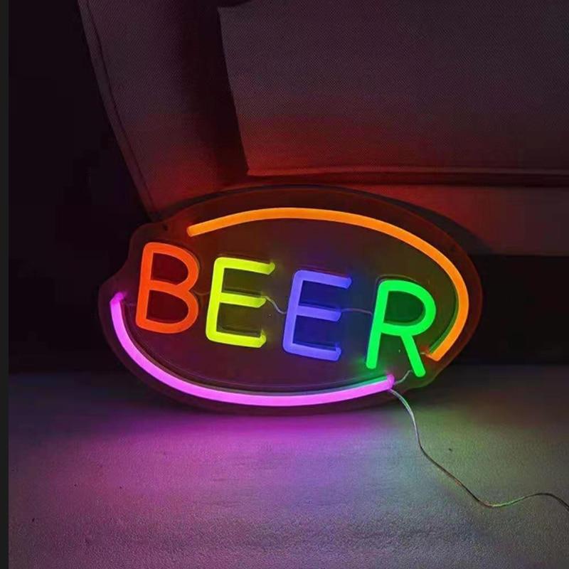 Поддержка индивидуальные DC12V LED OPEN WELCOME Neon Sign Bar% 2C Restaurant% 2C Public Places Neon Advertising Sign