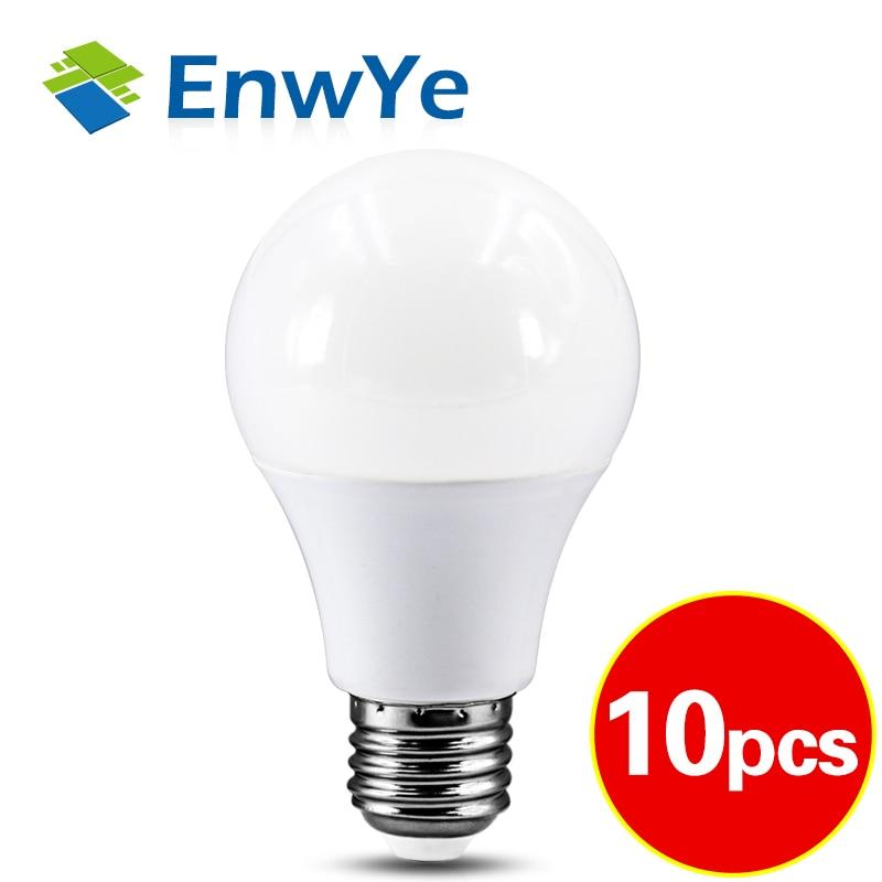 10PCS LED lamp E27 AC 220V LED bulb Light LED Spotlight Table lamp 3W 6W 9W 12W 15W 18W 20W 24W