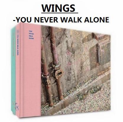 [MYKPOP]~100% OFFICIAL ORIGINAL~ HOT KPOP BOYS  WINGS: You Never Walk Alone,  Album Set CD - SA1901401