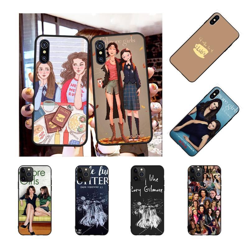 Penghuwan gilmore meninas rory honorário coque escudo caso de telefone para iphone 11 pro xs max 8 7 6 s plus x 5S se xr