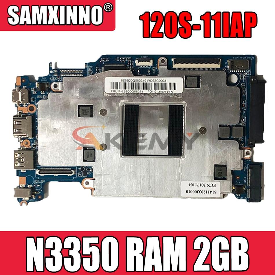 120S_MB_V1.0 لينوفو 120S-11IAP S130-11IGM الكمبيوتر المحمول اللوحة الأم CPU N3350 RAM 2GB مع واجهة HDD 100% اختبار OK