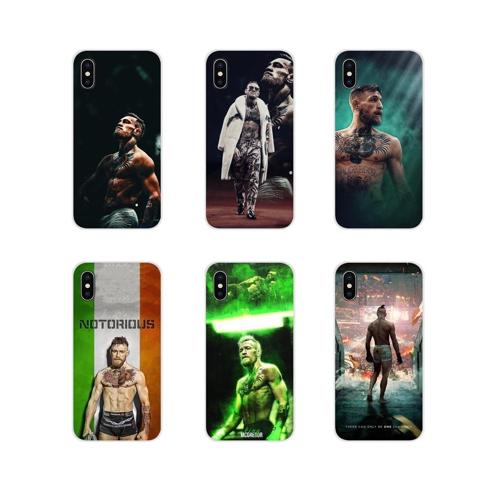 Conor Mcgregor para iPhone X de Apple XR XS 11Pro MAX 4S 5S 5C SE 6 6S 7 7 Plus ipod touch 5 6 cubiertas de los casos del teléfono