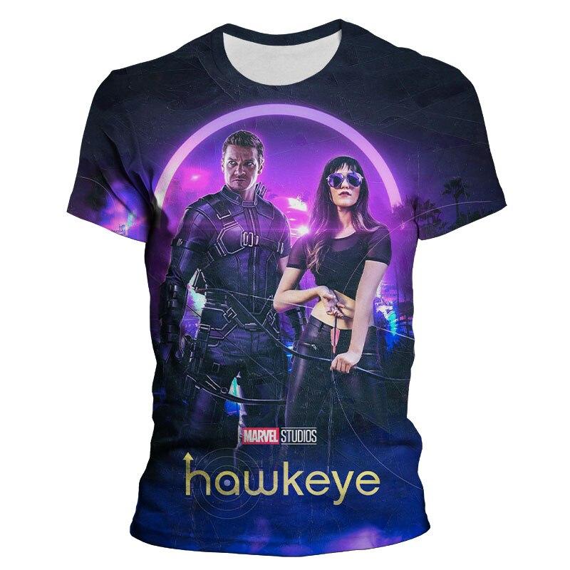 camiseta-de-hawkeye-de-marvel-para-hombre-mujer-y-nino-camiseta-con-estampado-3d-de-manga-corta-para-nino-y-nina-camiseta-de-moda-ropa-informal-de-moda