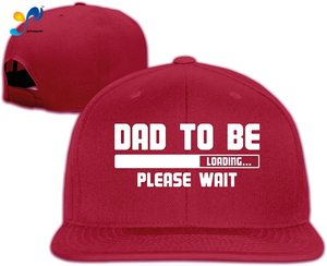 Yellowpods Dad To Be, Loading Men's Relaxed Medium Profile Adjustable Baseball Cap