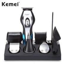 11 In 1 Hair Clipper Shaver Razor Men Shaving Machine Grooming Kit Set Rechargacle Nose Ear Hair Trimmer Hair Cutting Machine