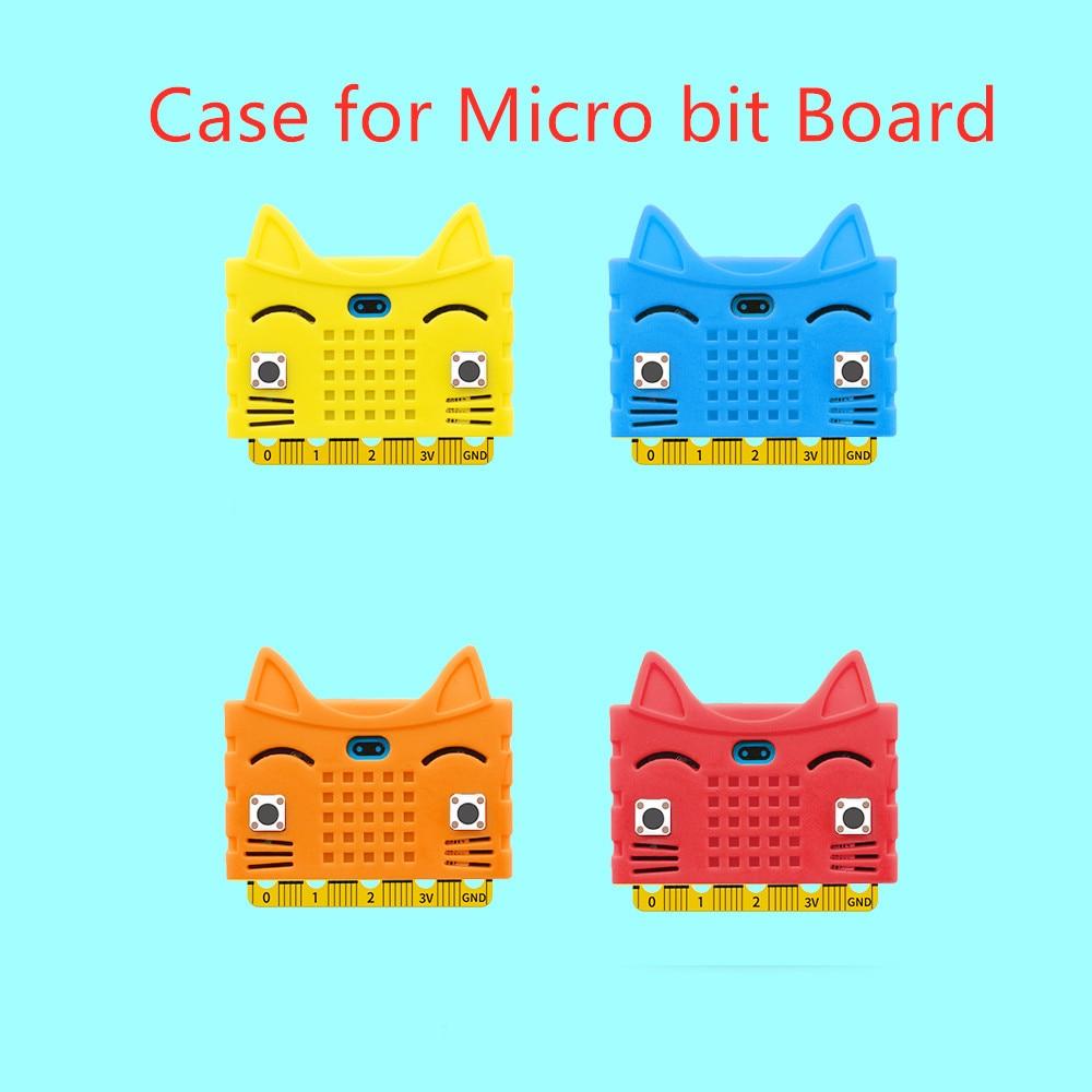 Hi-q! Coque de protection en Silicone en forme de chat mignon pour micro conseil (pas de conseil)
