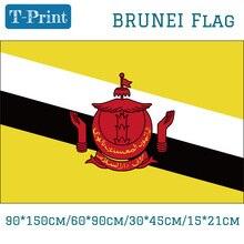 5 uds bandera 15*21cm 90*150cm 60*90cm bandera nacional de Brunei 30*45cm coche bandera para la decoración del hogar de la Copa del Mundo