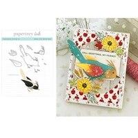 feathered friends metal cutting dies bird cut die mold decoration scrapbook paper craft knife mould blade punch stencils dies