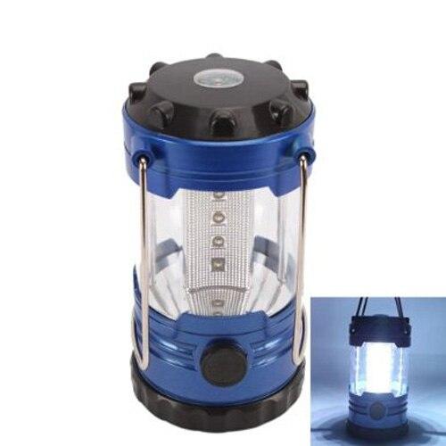 Caliente XD-12 LED portátil Camping campamento linterna lámpara de luz con brújula