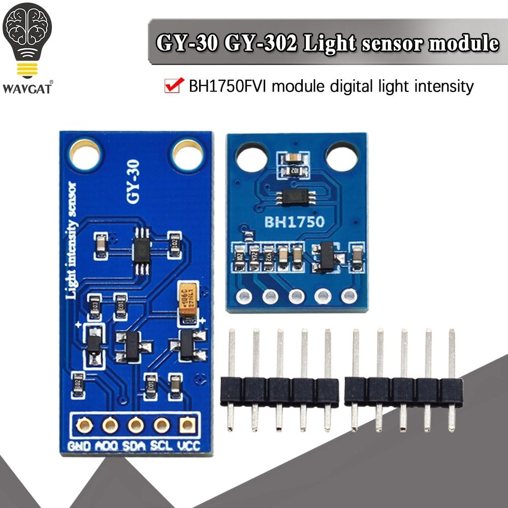 wavgat-gy-302-gy-30-bh1750-bh1750fvi-digitale-dell'intensita-ottica-sensore-di-illuminazione-bh1750fvi-di-modulo-per-arduino-3v-5v