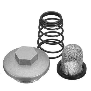 Accesorios de filtro de muelle para el drenaje de aceite de la motocicleta Scooter, accesorios de motor para DY6125-150, para baosian, para Benzhou, para Znen, Taotao