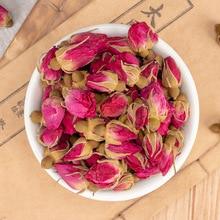 2021 Dried Pink Rose Buds Flower Tea Promote Blood Circulation Beauty Health Regimen Pack Girl Women