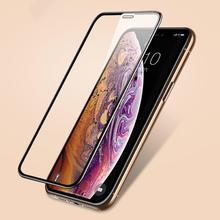 Screen Protectors Tempered Glass Front Protective Film Cover for iPhone 6 6S 7 8 Plus X XR XS Max Mo