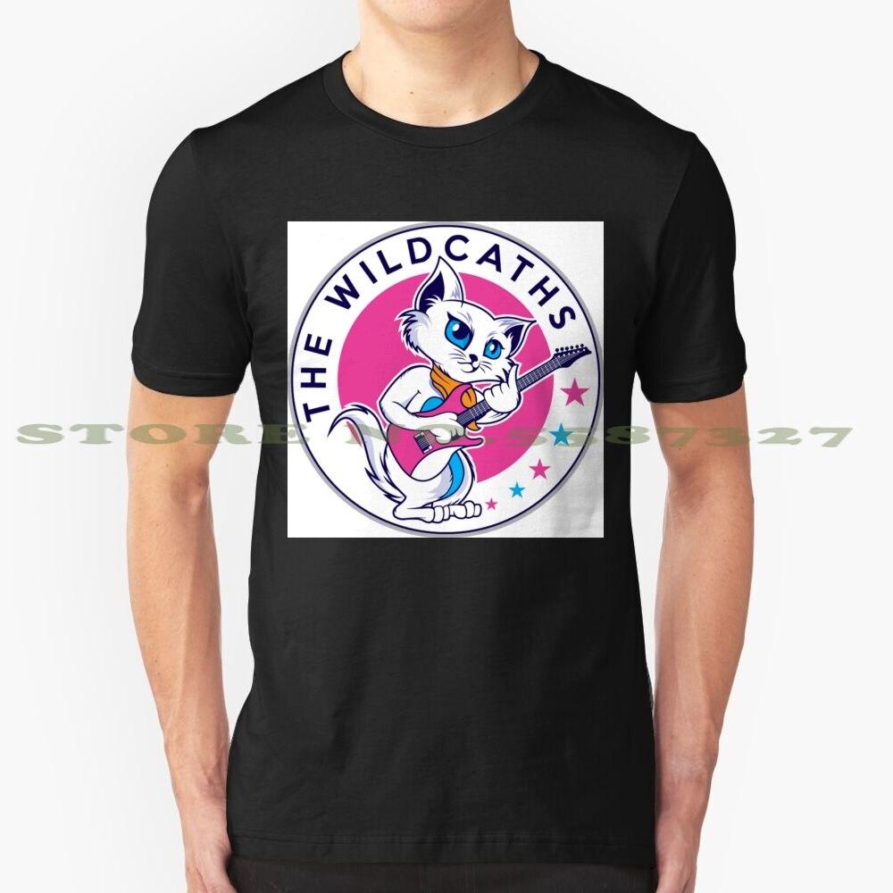 Camiseta a la moda con diseño moderno de The Wildcats, camiseta para Fans de los Wildcats de CATS