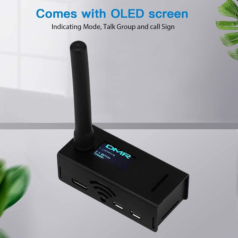 Cambospot-نقطة وصول MMDVM QSO مجمعة ، دعم P25 DSTAR DMR YSF NXDN Raspberry Pi Zero W OLED مع هوائي حافظة
