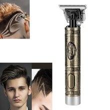 Cuchilla de acero inoxidable Kemi, cortadora de pelo de 5W de alta potencia, cortadora inalámbrica de pelo, cortadora silenciosa de barba, cortadora de pelo, máquina de estilismo de corte de pelo