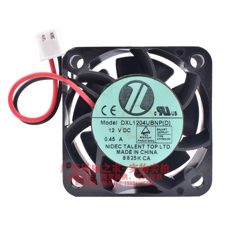 Вентилятор охлаждения радиатора для Nidec 4028 DC 12V 0.45A DXL1204UBNP (D) 40X40X28MM 2PIN двойной шариковый подшипник