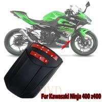 ninja400 z400 front fender mudguard extender splash guard protector extension for kawasaki ninja z 400 motorcycles accessories