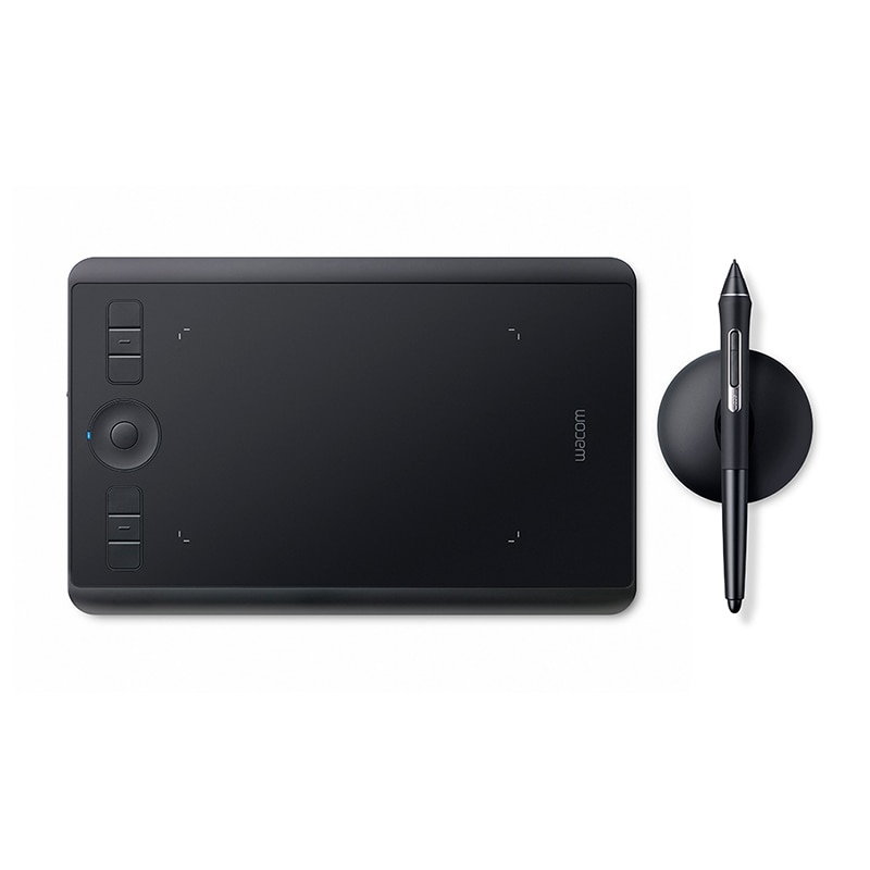 Wacom Intuos Pro PTH-460 Digital Graphic Drawing Tablet for Mac or PC, Small , 8192 Pressure Levels