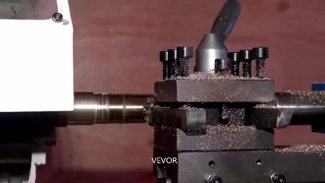 Metal Mini Motorizado Torno Máquina Carpintaria Faça Você Mesmo Ferramenta Elétrica Modelmaking