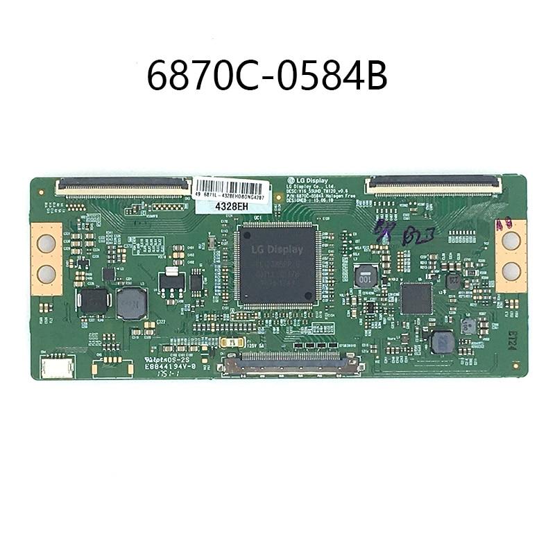 Original 100% test für LG 6870C-0584A 6870C-0584B 43 49 55 zoll platine