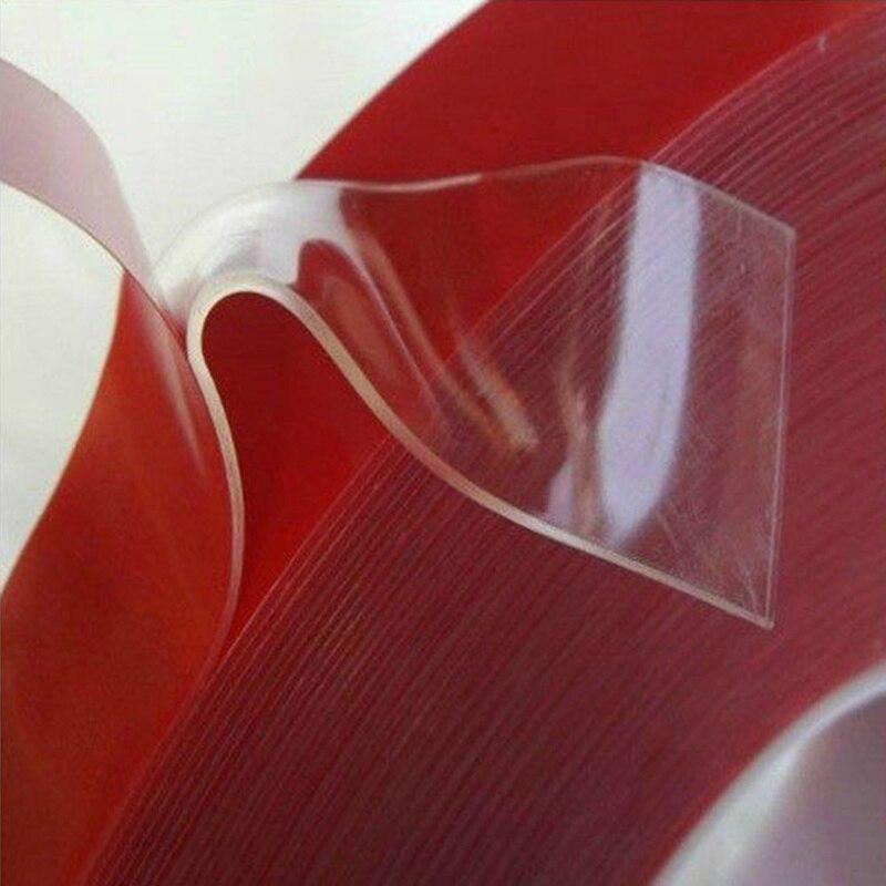 Lengte Breedte 6/8/10/12/15 Mm Sterke Clear Dubbelzijdig Tape Transparant Acryl schuim Lijm Tapedouble Kleefband
