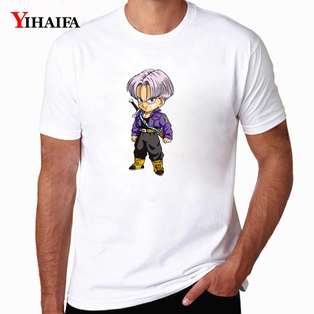 Camiseta Casual para hombre, camisetas con gráficos de Dragon Ball de Anime, camisetas casuales de manga corta, camisetas de entrenamiento para hombre, camisetas con cuello redondo